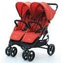 VALCO BABY Коляска для двойни SNAP DUO Twin/ Carmine red
