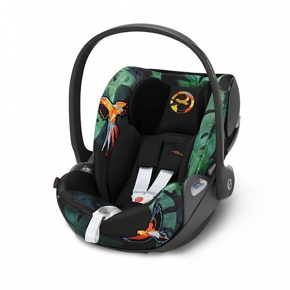 Cybex Автокресло детское Cloud Z I-size FE Birds of Paradise  гр. 0+