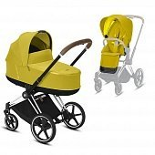Cybex Priam III коляска 2 в 1 Chrome / Mustard Yellow