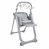 Chicco стульчик Polly Magic Relax Graphite