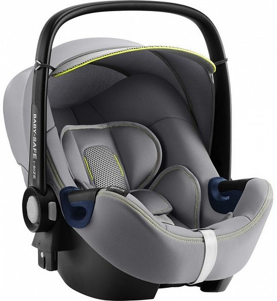 Britax Roemer Автокресло Baby-Safe2 i-Size Cool Flow - Silver + база FLEX (гр. 0+)