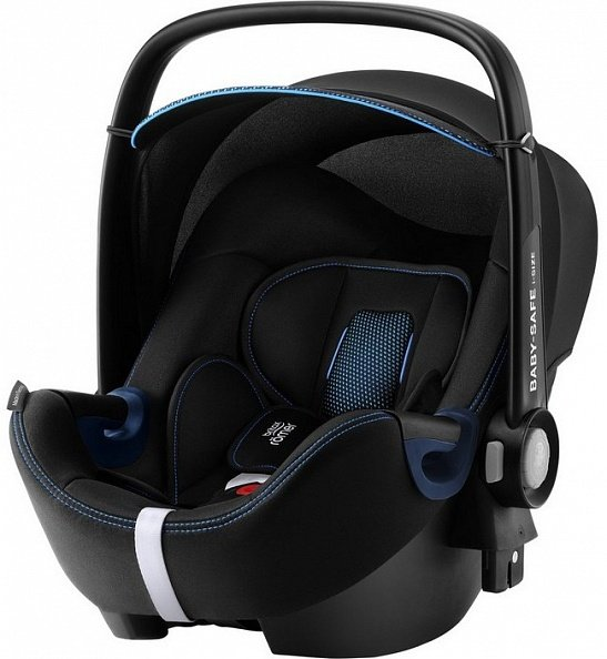 Britax Roemer Автокресло Baby-Safe2 i-size Cool Flow - Blue Special Highline (гр. 0+)