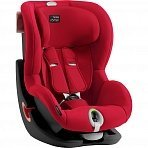 Britax Roemer автокресло King II LS Black Series Fire Red Trendline (Группа 1, от 9 до 18 кг