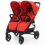 Valco Baby Snap Duo Twin / коляска для двойни Fire Red
