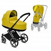 Cybex Priam III коляска 2 в 1 Chrome Black / Mustard Yellow