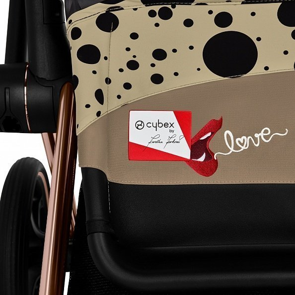 Cybex Ткань сиденья Seat Pack PRIAM III FE Karolina Kurkova One Love