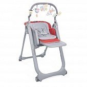 Chicco стульчик Polly Magic Relax Scarlet