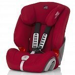 BRITAX ROEMER автокресло Evolva Plus Flame Red (Группа 1/2/3)