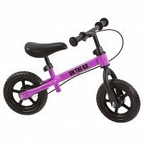 "FUNKIDS Беговел с тормозом 10 ""On-The-Go"" цв. Фуксия"