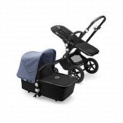 Bugaboo Коляска 2 в 1 Cameleon3 Plus BLACK/BLACK/BLUE MELANGE