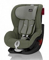 BRITAX ROEMER автокресло KING II LS Black Series Olive Green (группа 1, от 9 до 18 кг)