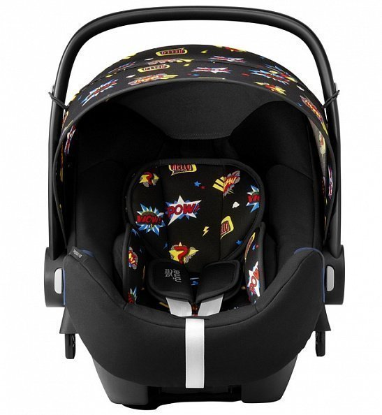 Britax Roemer автокресло Baby-Safe2 i-Size + база Flex Comic Fun