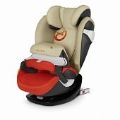 Cybex автокресло Pallas M-Fix Autumn Gold (гр.1/2/3)