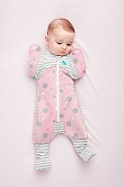 Love To Dream Swaddle Up комбинезон спальный Transition Suit Lite Pink