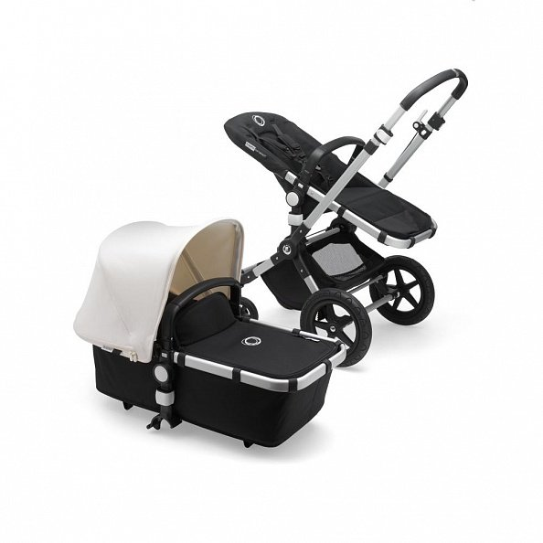 Bugaboo Коляска 2 в 1 Cameleon3 Plus ALU/BLACK/FRESH WHITE