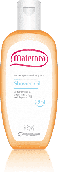 Maternea масло для душа Shower Oil Maternea 210 мл.