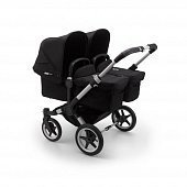Bugaboo Donkey3 коляска 2 в 1 для двойни Twin Alu/Black/Black