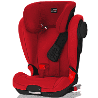 BRITAX ROEMER автокресло KIDFIX II XP SICT Black Series Flame Red  (Группа 2-3, от 15 до 36 кг)